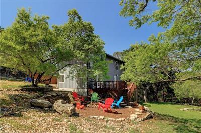Lago Vista Single Family Home Pending: 20812 Buena Vis