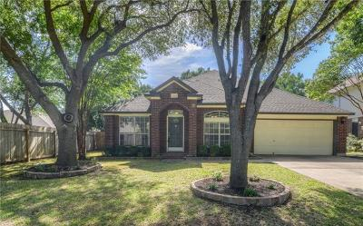 Round Rock Single Family Home For Sale: 17002 Hillside Dr