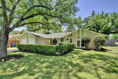 Austin Single Family Home Pending - Taking Backups: 1001 Cripple Creek Dr
