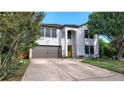 Hays County, Travis County, Williamson County Single Family Home For Sale: 7500 Redrick Dr