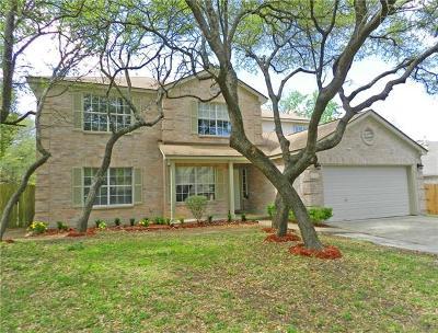 Cedar Park Single Family Home For Sale: 1915 Hilltree Ln