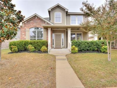 Cedar Park Single Family Home For Sale: 1005 Big Spring Dr