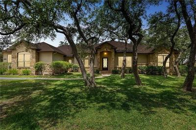 Dripping Springs Single Family Home For Sale: 112 Horseshoe Dr
