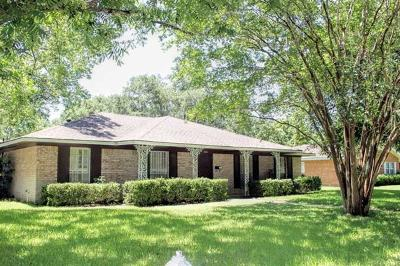 Lockhart Single Family Home For Sale: 804 Vogel Dr