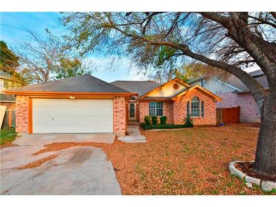 Round Rock Single Family Home For Sale: 701 Southcreek Dr