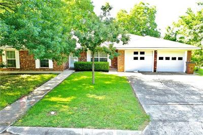Lockhart Single Family Home For Sale: 1309 Redbud Trl