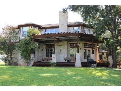 Burnet Single Family Home For Sale: 245 Waters Edge