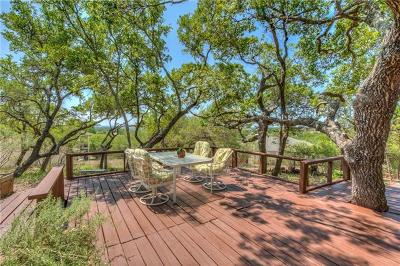 Lago Vista Single Family Home Pending - Taking Backups: 20211 Highland Lake Dr