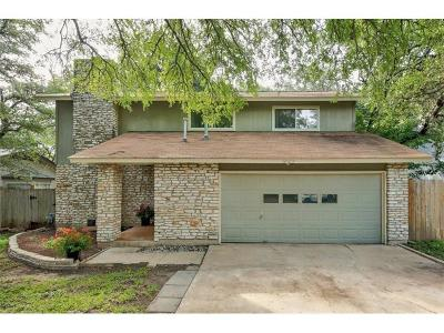 Travis County, Williamson County Single Family Home For Sale: 10019 Woodland Village Dr