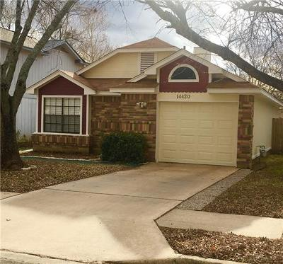 Austin Single Family Home For Sale: 14420 Tiffer Ln