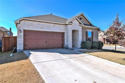 Leander Single Family Home For Sale: 1401 Reklaw Ln