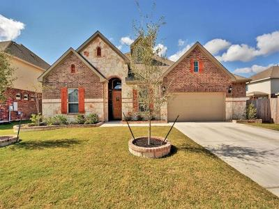 Leander Single Family Home For Sale: 2609 Pecan Creek Dr