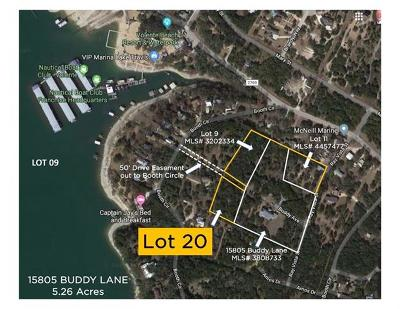 Residential Lots & Land For Sale: LOT 20 Buddy Ln