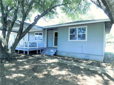 Bastrop County Single Family Home Active Contingent: 1778 Fm 1704