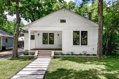 Austin Single Family Home Active Contingent: 4106 Avenue D