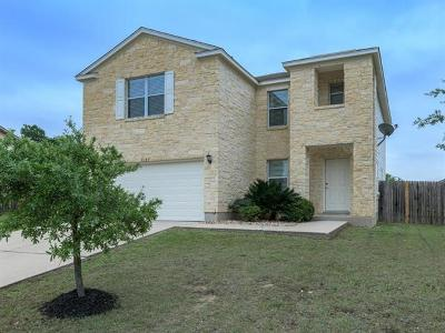 Round Rock TX Single Family Home For Sale: $264,900