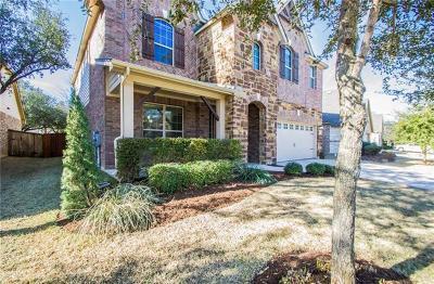 Cedar Park Single Family Home Pending - Taking Backups: 4004 Remington Rd