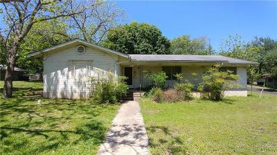 San Marcos Single Family Home For Sale: 308 Yale St