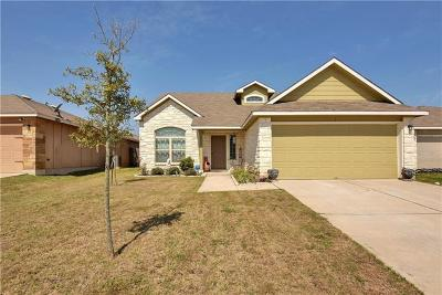 Manor Single Family Home Pending - Taking Backups: 12812 Carillon Way
