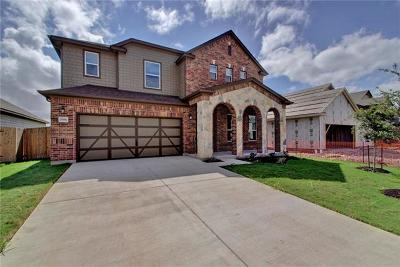 Round Rock Single Family Home For Sale: 7981 Arezzo Dr