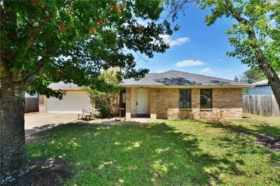 Cedar Park Single Family Home For Sale: 2207 Larston Ln