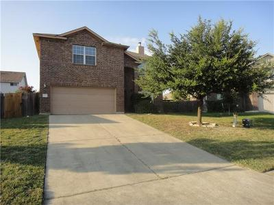 Round Rock Single Family Home For Sale: 1028 Zeus Cir