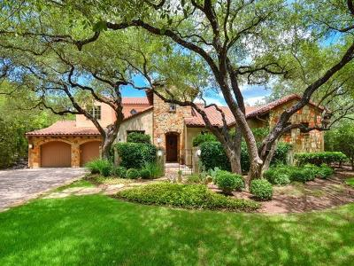 Single Family Home For Sale: 1200 Barton Creek Bv #9