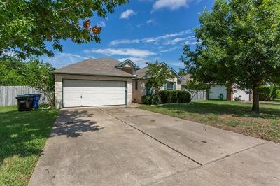 Hutto Single Family Home For Sale: 213 Little Lake Rd