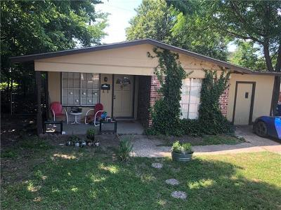 Hays County, Travis County, Williamson County Single Family Home Pending - Taking Backups: 3600 Villa Ct