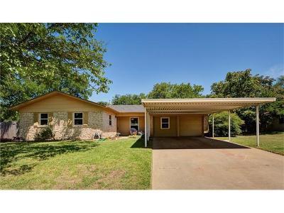 Austin Single Family Home Pending - Taking Backups: 6800 Deborah Dr