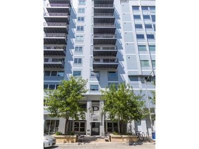Condo/Townhouse For Sale: 800 Brazos St #804