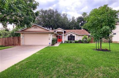 Cedar Park Single Family Home Pending - Taking Backups: 1316 Butternut Pl