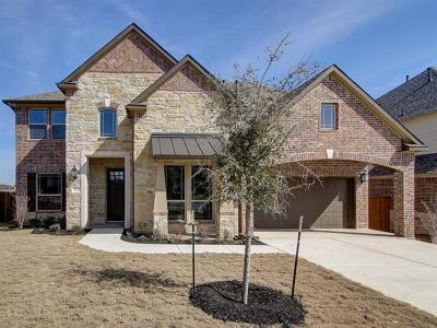 Georgetown Single Family Home For Sale: 512 Breezygrass Way