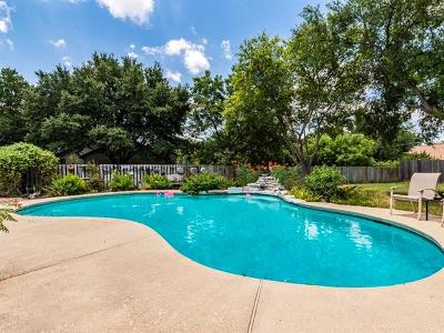 Round Rock Single Family Home For Sale: 1324 Amistad Dr