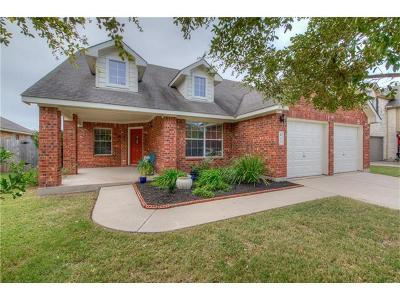 Hutto Single Family Home Pending - Taking Backups: 412 Peaceful Haven Way