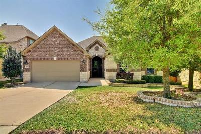 Round Rock Single Family Home For Sale: 4490 Wandering Vine Trl