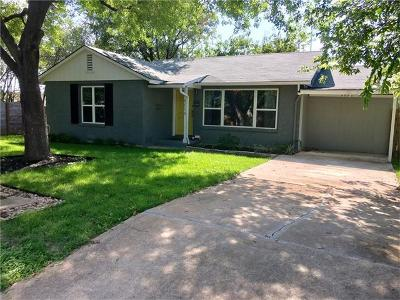 Austin Single Family Home For Sale: 4514 Highland Ter
