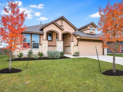 Pflugerville Single Family Home For Sale: 18008 Monarch Butterfly Way