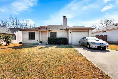 Round Rock Single Family Home Pending - Taking Backups: 1609 Primrose Trl