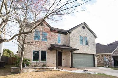 Round Rock Single Family Home Pending - Taking Backups: 3606 Windhill Loop