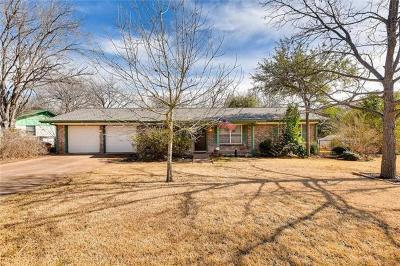 Hays County, Travis County, Williamson County Single Family Home For Sale: 5805 Parkwood Dr