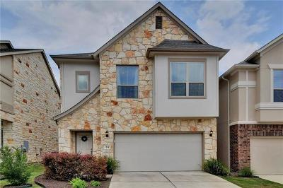 Round Rock Condo/Townhouse For Sale: 2105 Town Centre Dr #24