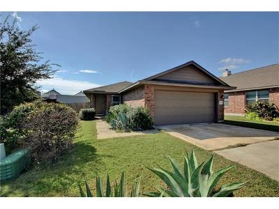 Manor Single Family Home For Sale: 13337 Indian Oak Bnd