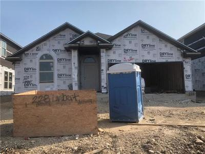 Williamson County Single Family Home For Sale: 228 Lambert St