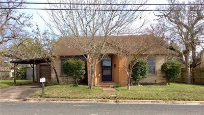 Giddings Single Family Home Pending - Taking Backups: 446 S Caldwell St