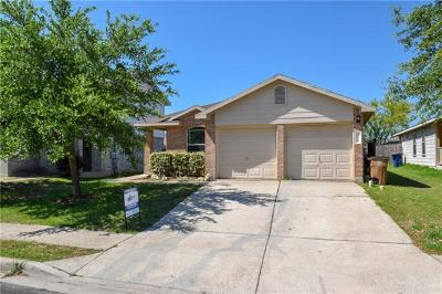 Del Valle Single Family Home Pending - Taking Backups: 12721 Sky Harbor Dr