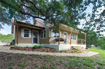 Wimberley Single Family Home Pending - Taking Backups: 109 Timberline Rd