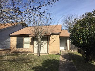Pflugerville Condo/Townhouse For Sale: 1128 Orchard Park Cir