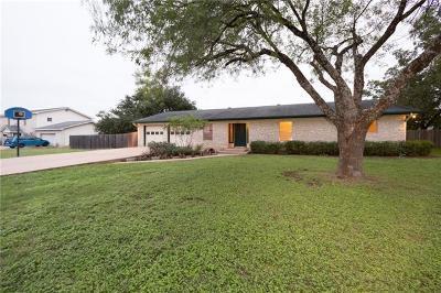 Pflugerville Single Family Home Pending - Taking Backups: 15509 Hebbe Ln