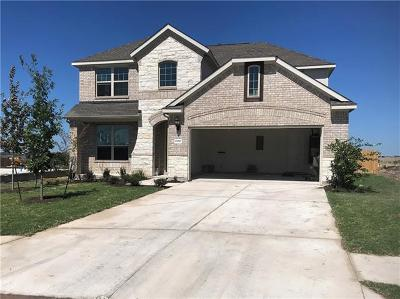 Round Rock TX Single Family Home For Sale: $318,003
